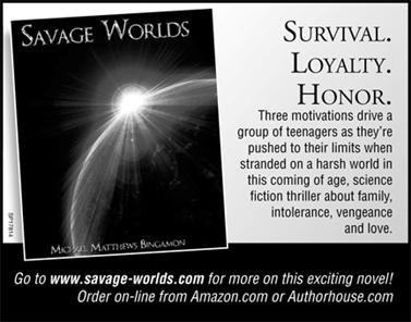 Savage Worlds - go to www.savage-worlds.com for more on this exciting novel!